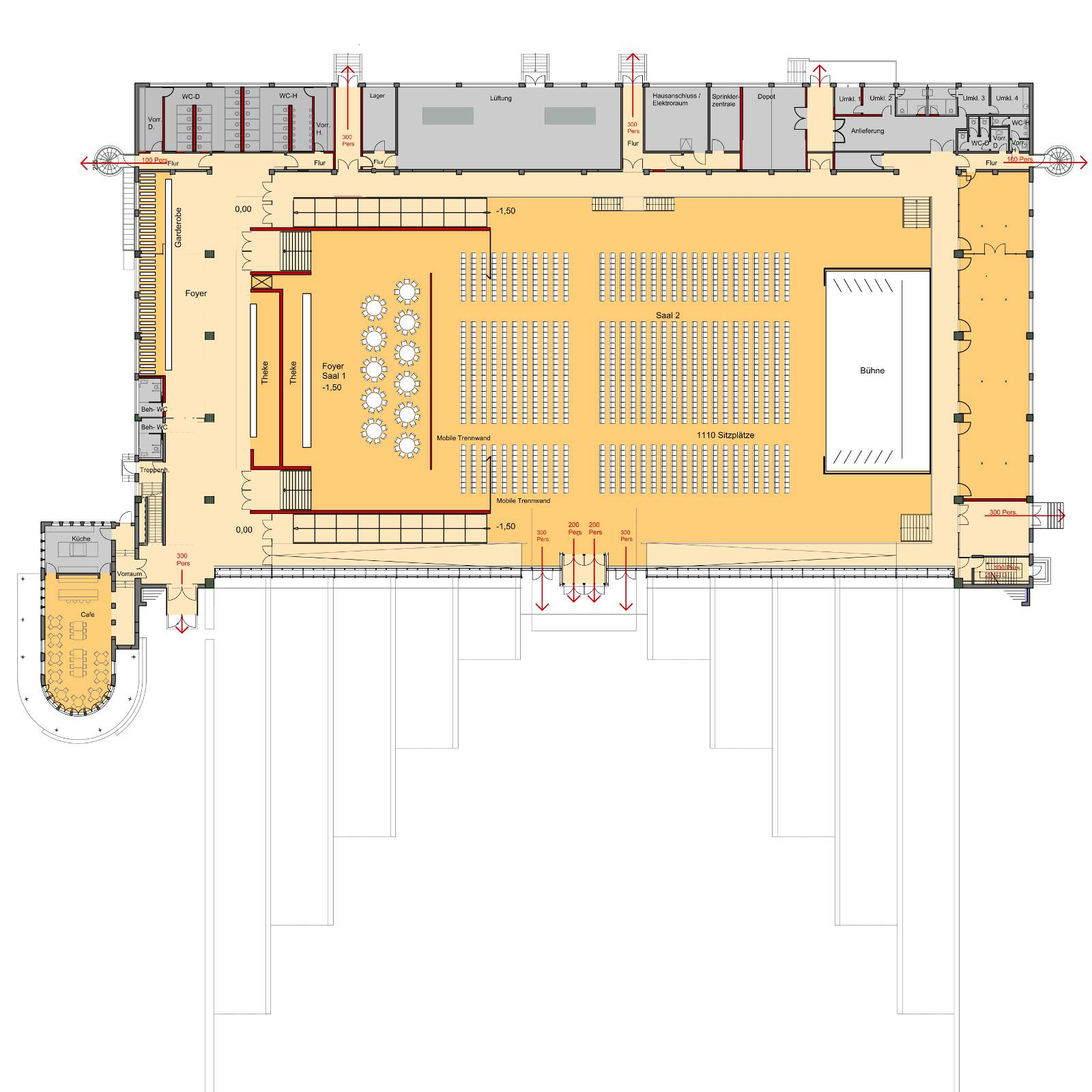 Hangar 21 . Detmold